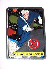 1992 X-MEN QUICKSILVER MARVEL VENDING MACHINE NON-PRISM FOIL STICKER! RARE!
