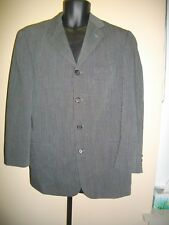 8caa7c75e75c Hugo Boss 40R Single Breast Mens Sport Coat Black White Jacket