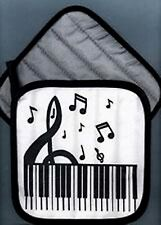 'Clef and Keyboard' Pot Holder