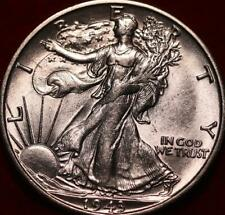 Uncirculated 1943-S San Francisco Mint Silver Walking Liberty Half