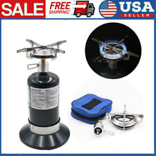 Portable Compact Propane Gas Burner Stove for Outdoor Picnic Camping Cooking