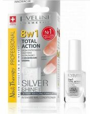 EVELINE NAIL THERAPY 8IN1 TOTAL ACTION  INTENSIVE NAIL CONDITIONER SILVER SHINE