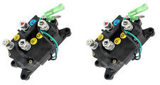 (2) Winch Contactors Solenoids Replaces Warn #'s 63070 62135 74900 2875714 70715