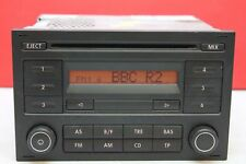 VOLKSWAGEN POLO T5 FOX LUPO ALHAMBRA RCD 200 RADIO CD PLAYER CAR STEREO CODE VW