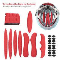 Almohadillas de casco de ciclismo Esponja sellada Casco de bicicleta de