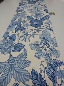 Decorative Table Runner Windsor Blue Floral 150cm x 35cm