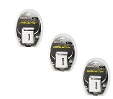 THREE 3X Batteries for Canon D10 SD980 SD1200 SD1300 SD3500 SD4000 500HS