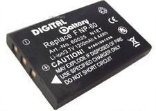 Power Batterie pour Toshiba Camileo h20 h30 Pro p10 p20 appareil photo Accu Batterie