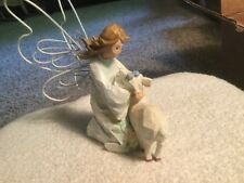"""Angel Accents by Roman, Inc. """"Angel of Care� Figurine with deer"""