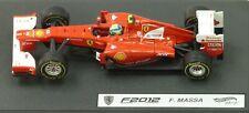 Hot Wheels Ferrari F2012 X5523 escala 1/43rd Felipe Massa MIB