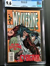 Wolverine #80 CGC 9.6 1st appearance of X-23 Test Tub Cyber Appearance1994