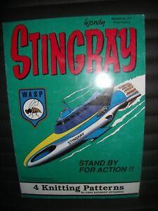 Stingray 4 Knitting Patterns By Wendy