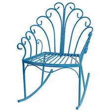 Wire Child's Rocking Chair Blue - D36437Blue