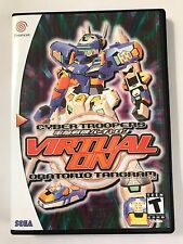 Virtual On - Sega Dreamcast - Replacement Case - No Game