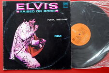ELVIS PRESLEY RAISED ON ROCK RARE EXYUGOSLAVIA LP