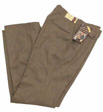 NWT Vintage 70s/80s LEVIs Brown WOOL Dress Pants Size 32 x 32 David Hunter Retro