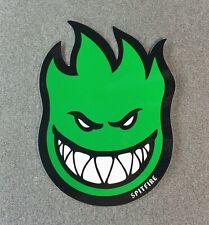 SpitFire Fireball Skateboard Sticker 6in green si