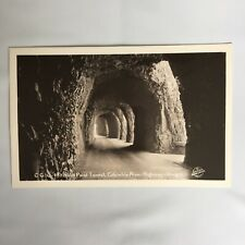 RPPC Real Photo Unposted Postcard Mitchells Point Tunnel Columbia River Oregon