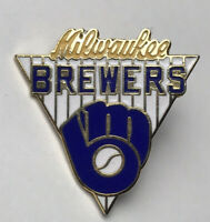 Vintage 1989 Milwaukee Brewers Baseball Collectors Pin