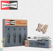 Champion (7437) RE7PYP6 Double Platinum Spark Plug - Set of 4
