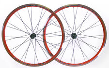 AEROMAX 700c Road Comp Red Road Bike Wheelset Clincher Shimano/SRAM 7-11s NEW