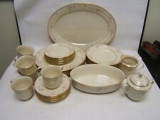 Lenox Rose Manor Dinnerware Plates Bowls Serving Pieces Excellent Condition