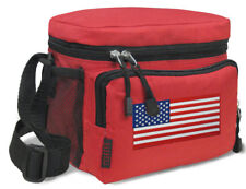 American Flag Lunch Bag BEST USA Lunch Box Cooler Tote WELL MADE!