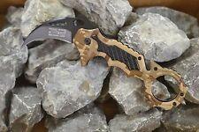 Blackfield Desert Thorn Karambit Rettungsmesser Taschenmesser Einhandmesser