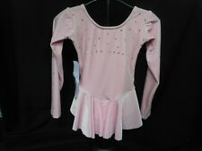 Ice Skating Dress Youth 6/8 Light Pink Velvet # D0680