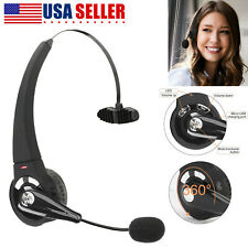New listing Wireless Bluetooth Over-Head Headset Noise Cancelling with Mic For Trucker Us