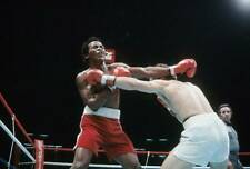 Old Boxing Photo Elisha Obed Throws A Punch Against Bobby Czyz