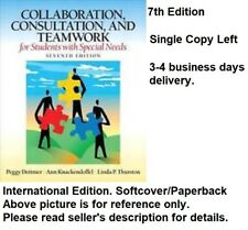 Collaboration Consultation and Teamwork for Students 7e Global Edition