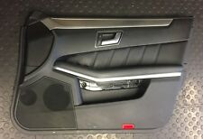MERCEDES E CLASS SALOON W212 DRIVERS FRONT DOOR PANEL CARD AND DOOR HANDLE - 72