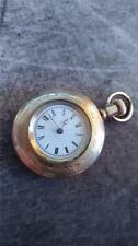 VINTAGE 0 SIZE ELGIN PENDANT POCKET WATCH GRADE 109 RUNNING!