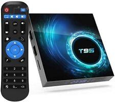 T95 Android 10.0 Smart TV Box HDMI Quad Core WIFI Media Player Remote Control