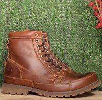 TIMBERLAND MEN EARTHKEEPERS® ORIGINAL LEATHER 6-IN MD BROWN STYLE 15551 Sz:11.5