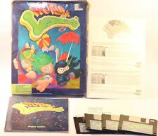 "IBM PC 3 1/2"" DISKS GAME ALL NEW WORLD OF LEMMINGS BIG BOX GAME"