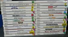 Nintendo Wii Bulk Games - Your Choice - Free Post - Batman, TMNT, Metroid Etc