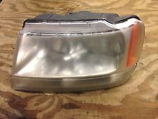 2002 jeep grand cherokee headlight ( driver ) 1999-2004 overland limited
