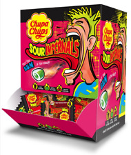 Full Bof of 180 Chupa Chups Sour Infernals Sour Gum SweetsBox 700g REDUCED £9.99