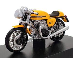 Newray 1/32 Scale 06036 - 1973 Ducati 750 Sport Motorcycle - Yellow