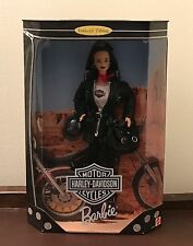 Barbie Doll Harley-Davidson Motor Cycles Collector Edition 1998 New