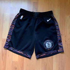 RARE Nike Brooklyn Nets City Edition Biggie Coogi Bed-Stuy Shorts Men's Large 38