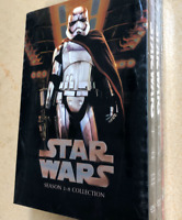 Star Wars Saga Movie Episodes Season 1-8 Complete DVD Set Collection (14-Disc)