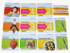 Weight Watchers Start Broschüren Points KOMPLETTSET Ihr Sattmacher Plan SET 2017