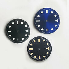 28.5mm/29mm Blue Luminous 4-Pin Literal Watch Dial for 2824/2836/2813 Movement