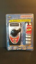 Emergency Crank Radio And Flashlight No Batteries Required. B1