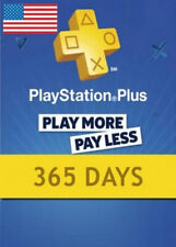 Playstation Plus 12 meses (365 días) PS4-Ps Plus multijugador (solo para EE. UU.)