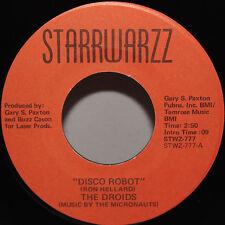 Droids 45 Disco Robot / Cosmic Space Shuttle '77 Starrwarzz Star Wars Micronauts