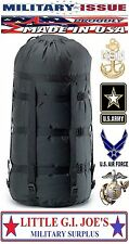 NEW Military Issue Compression Stuff Sack 9 Strap for Sleeping Bags MSS & More